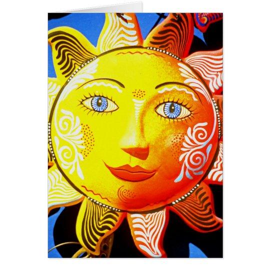 Sun Ceramic Card