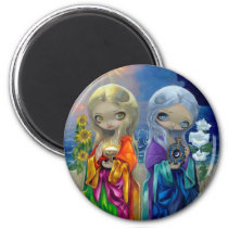 """""""Sun Child and Moon Child"""" Magnet"""