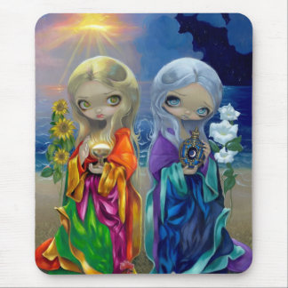"""Sun Child and Moon Child"" Mousepad"