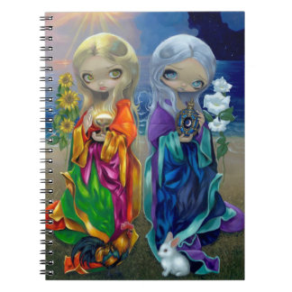 """Sun Child and Moon Child"" Notebook"