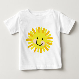 Sun Child Drawing Baby T-Shirt