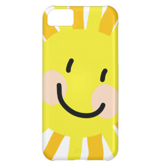 Sun Child Drawing Cover For iPhone 5C