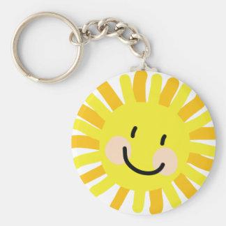 Sun Child Drawing Keychain