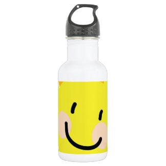 Sun Child Drawing 18oz Water Bottle