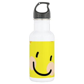 Sun Child Drawing Stainless Steel Water Bottle