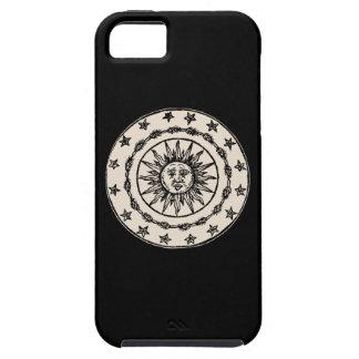 Sun Circle Funda Para iPhone SE/5/5s