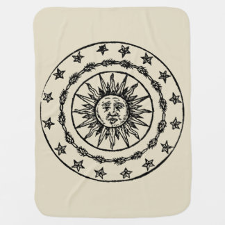 Sun Circle Swaddle Blanket