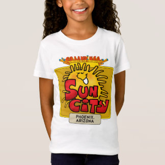 Sun City 2 Girls Baby Doll (Fitted) T-Shirt