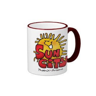 Sun City 3 Ringer Mug