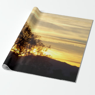 Sun City Sunset Wrapping Paper 1