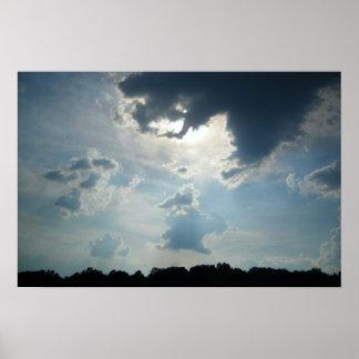 Sun Cloud Poster