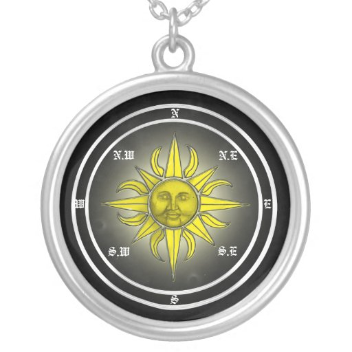 Sun Compass Pendant