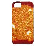 Sun con las llamaradas solares funda para iPhone 5 tough