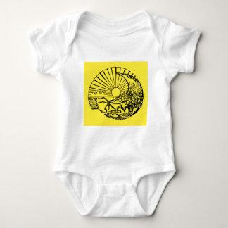 sun conch tshirt