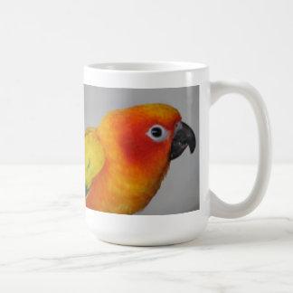 Sun Conure Classic White Coffee Mug