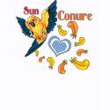 Sun Conure Cutie T-Shirt (lt) shirt