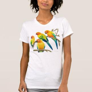 Sun Conure Parrots Ladies Jersey Knit Shirt