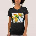 Sun Conure Parrots Petite T-Shirt