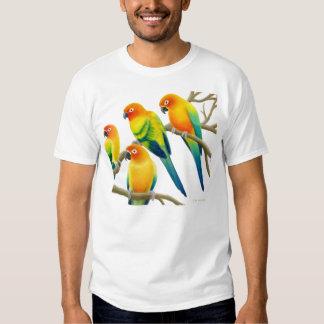 Sun Conure Parrots T-Shirt