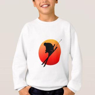 Sun cool skiing sweatshirt