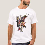 """Sun Dancer NAHM T-Shirt<br><div class=""""desc"""">One-third of the 2, 786, 652 Native Americans in the U.S. live on reservations in California, Arizona and Oklahoma. The largest tribes by population are Navajo, Cherokee, Choctaw, Sioux, Chippewa, Apache, Lumbee, Blackfoot, Iroquois and Pueblo. National Native American Heritage Month honors and recognizes the people who have been an integral...</div>"""