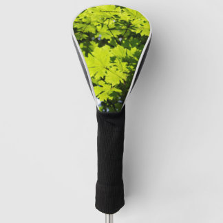 Sun-Dappled Leaves in the Forest Golf Head Cover