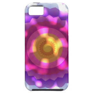 Sun Dappled Pink Purple Flower Kaleidoscope iPhone SE/5/5s Case