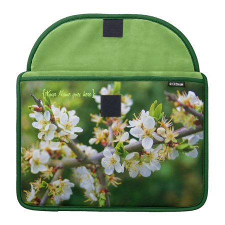 Sun-Dappled Spring Hawthorn Sleeve For MacBook Pro