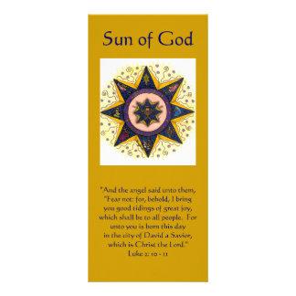 """Sun de dios 001, """"y el ángel dijo a ellos,… tarjetas publicitarias personalizadas"""
