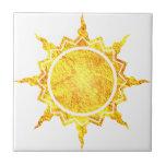 Sun de la Atlántida Teja Ceramica