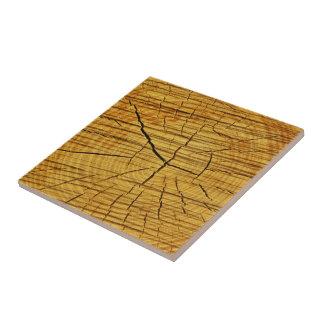 Sun de la madera azulejo cuadrado pequeño