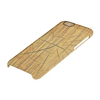 Sun de la madera funda clear para iPhone 6/6S