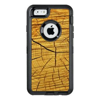 Sun de la madera funda OtterBox defender para iPhone 6