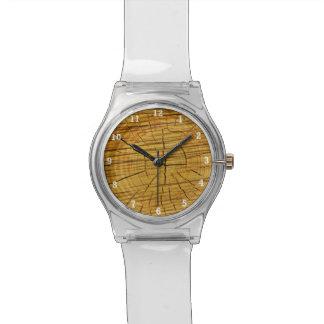 Sun de la madera relojes de pulsera