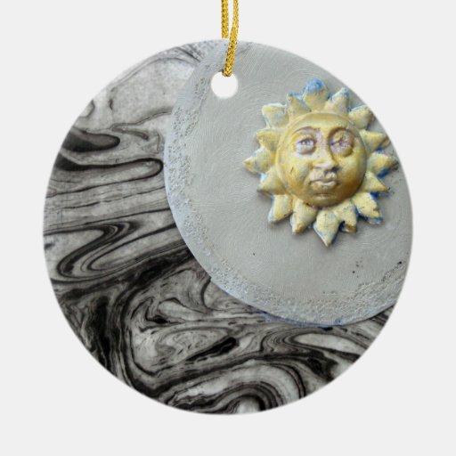 Sun de medianoche - collage ornamentos de reyes