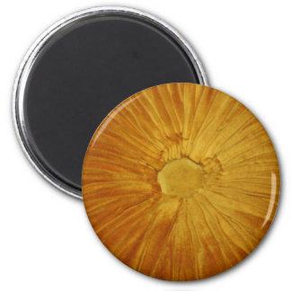 Sun de oro imán redondo 5 cm