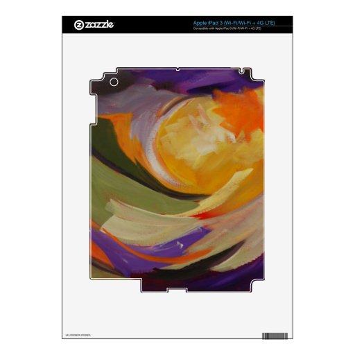 Sun de oro pegatina skin para iPad 3