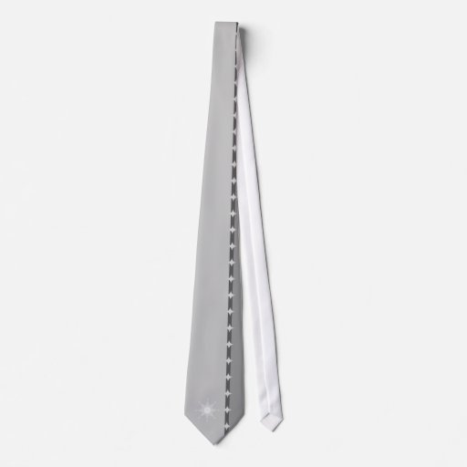 Sun de plata corbata personalizada