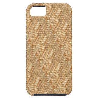 Sun Deck - Tongue and Groove Pine Wood Tiles iPhone SE/5/5s Case