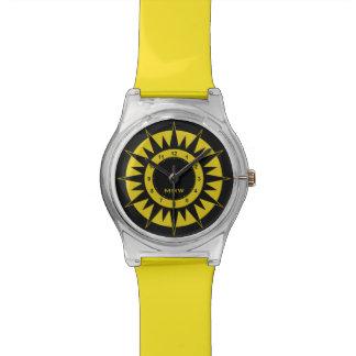 Sun Dial custom monogram watches