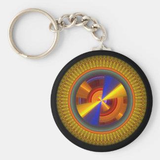 Sun Dial key chain