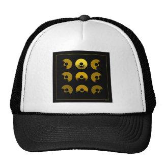 Sun Dial Mesh Hats