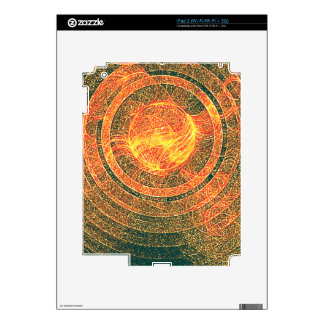 Sun Disk Fractal Skins For The iPad 2