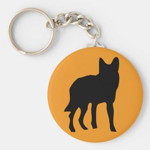 sun dog wolf icon keychains