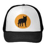 sun dog wolf icon trucker hat