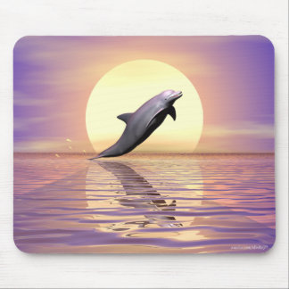 Sun Dolphin Mouse Pad