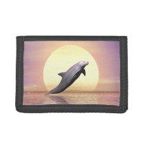 Sun Dolphin Tri-fold Wallet
