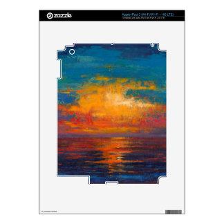 Sun Down II Decal For iPad 3