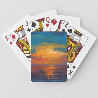 Sun Down II Playing Cards