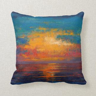 Sun Down II Throw Pillow